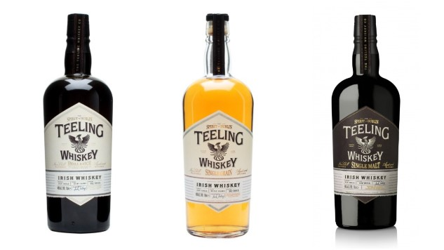 Tasting an Irish Whiskey Trinity from Teeling Distillery (Small Batch, Single Grain, Single Malt)