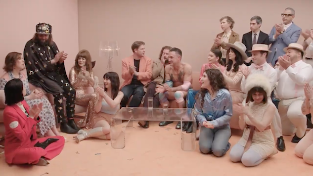 Watch Jenny Lewis Bring out All The Celebrities for Her <i>On The Line</i> Listening Party