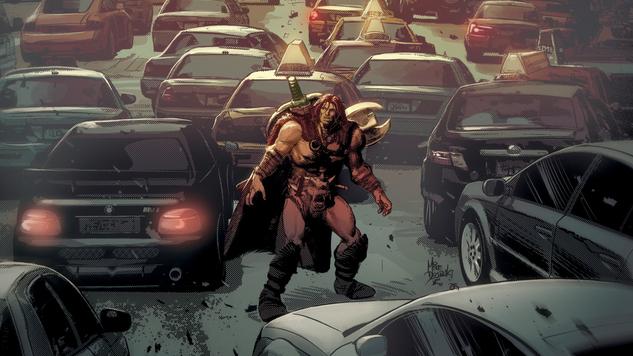 Exclusive: Jeff Lemire & Mike Deodato Jr. Unleash <i>Berserker Unbound</i> at Dark Horse Comics