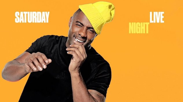 Idris Elba Enthusiastically Hosts a Fine <i>Saturday Night Live</i>