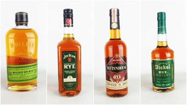 6 of the Best Bottom Shelf, Cheap Rye Whiskeys, Blind-Tasted and Ranked