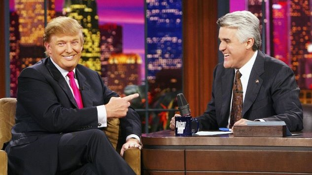 Jay Leno Complains that Late-Night Is Too Political, and Trump (<i>Shockingly!</i>) Agrees