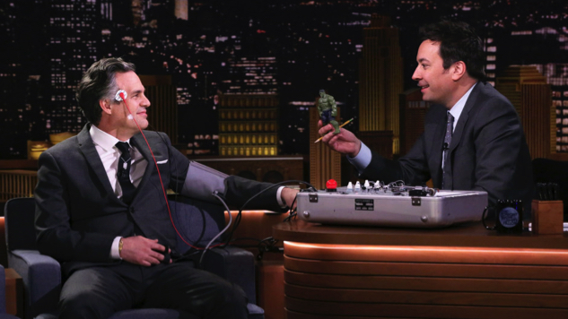 Watch Jimmy Fallon, Who May Actually Hate Mark Ruffalo, Give the Loose-Lipped Marvel Star a Lie Detector Test