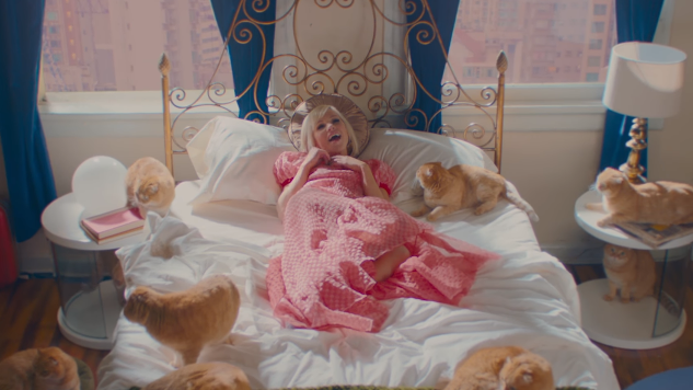 "Carly Rae Jepsen Goes Full-On Cat Lady in ""Now That I Found You"" Video"
