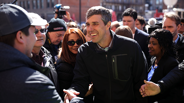 Beto O'Rourke Edges Out Sanders, Raises $6.1 Million in First 24 Hours