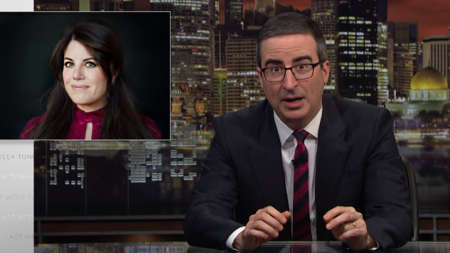 Watch John Oliver and Monica Lewinsky Tackle the Good, the Bad and the Ugly of Public Shaming
