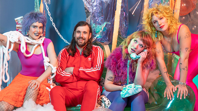 "Tacocat Release ""Hologram,"" Second Single from Their Forthcoming Album <i>This Mess Is a Place</i>"