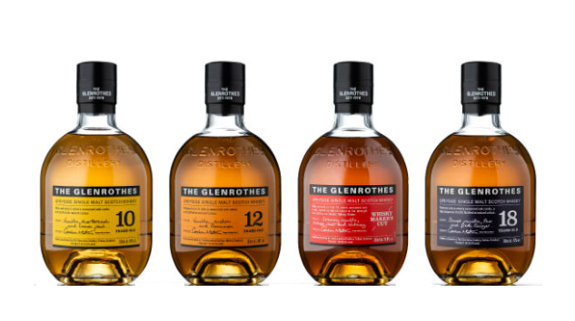 Tasting 4 Single Malts in The Glenrothes Soleo Collection