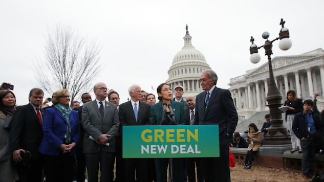 Three Senate Democrats Vote Against Fast-Tracked Green New Deal