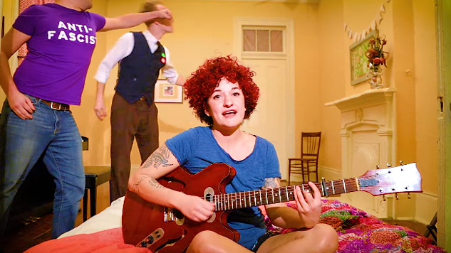 "Carsie Blanton Gets Playful and Political in ""Bed"" Music Video"