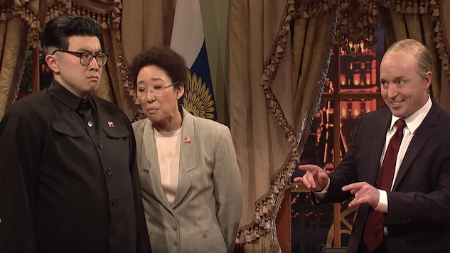 Sandra Oh Leads a Delightfully Silly, Yet Politically Toothless, Saturday Night Live