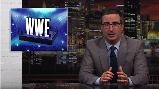 John Oliver Looks at WWE's Ridiculous Employment Practices