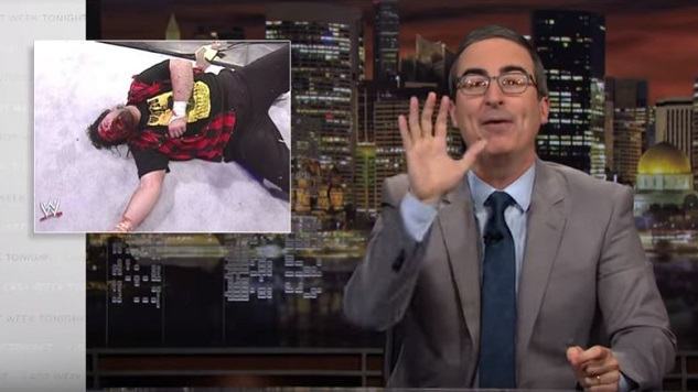 WWE Invites John Oliver to WrestleMania