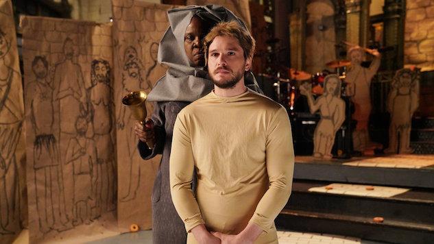 Watch Kit Harington Indulge Leslie Jones' <i>Game of Thrones</i> Fantasies in Promo for This Week's <i>SNL</i>