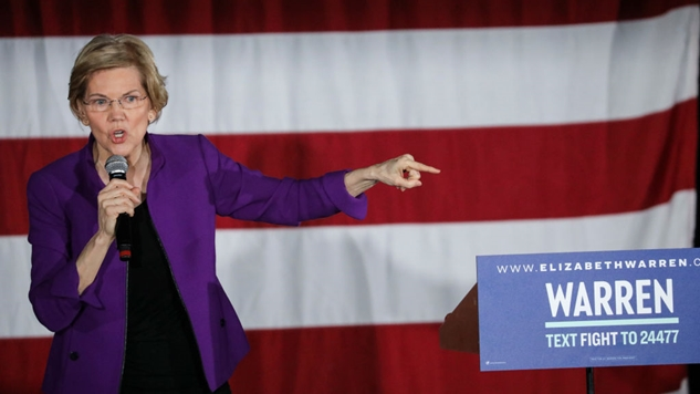 Elizabeth Warren Has A Novel Idea: Put Executives Who Committed Crimes in Prison
