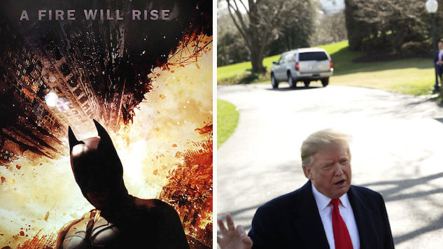 Trump's 2020 Twitter Video Removed For Use of <i>Dark Knight Rises</i> Soundtrack
