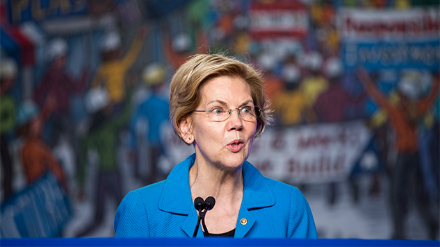 Elizabeth Warren Proposes Boldest Plan Yet on Corporate Taxes