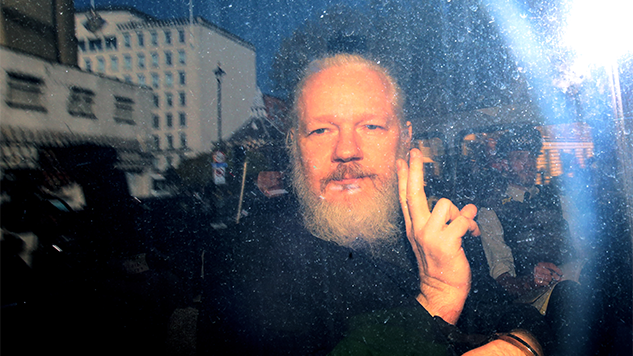 British Authorities Arrest Julian Assange on Behalf of U.S. Government
