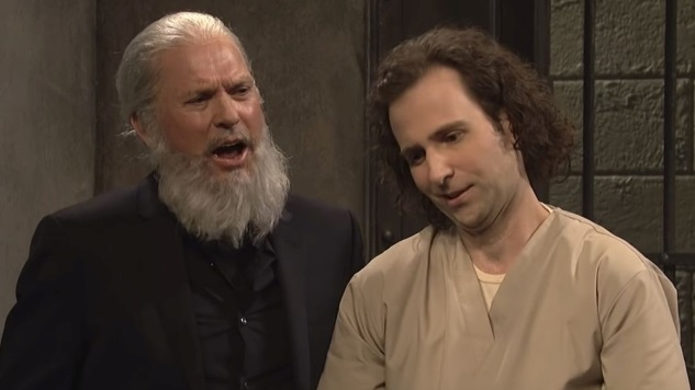 Watch Michael Keaton Play Julian Assange on <i>Saturday Night Live</i>