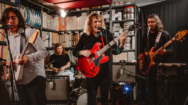 Watch The Mystery Lights Perform Songs From Their New Album in the Paste Studio