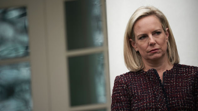 Kirstjen Nielsen Was Warned Not to Tell Trump About Her Efforts to Prevent Further Russian Election Interference