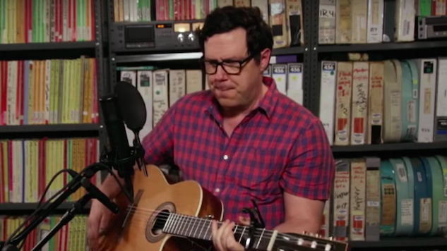 Watch Damien Jurado Perform Songs From His New Album in the <i>Paste</i> Studio