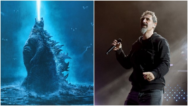 "Serj Tankian Covers Blue Öyster Cult's ""Godzilla"" for the <i>Godzilla: King of the Monsters</i> Soundtrack"