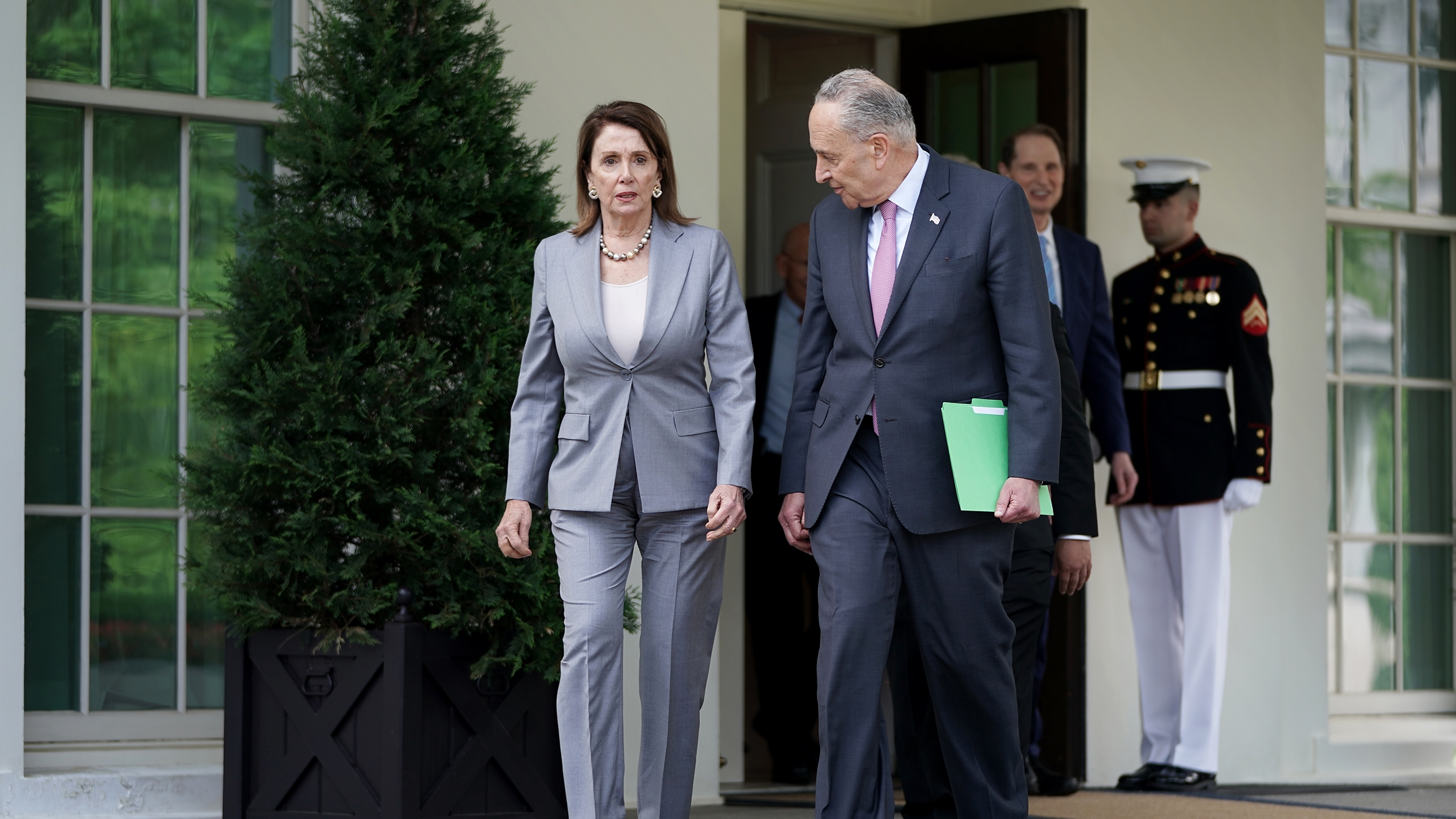 Two Theories on What Pelosi and Schumer Are Really Doing with Trump on Infrastructure