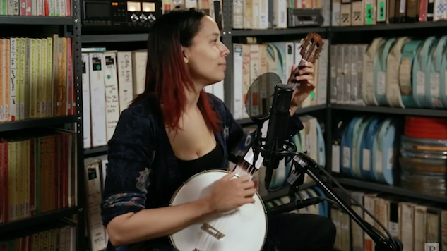 Watch Rhiannon Giddens Perform Tracks from New Album <i>There Is No Other</i> in the <i>Paste</i> Studio