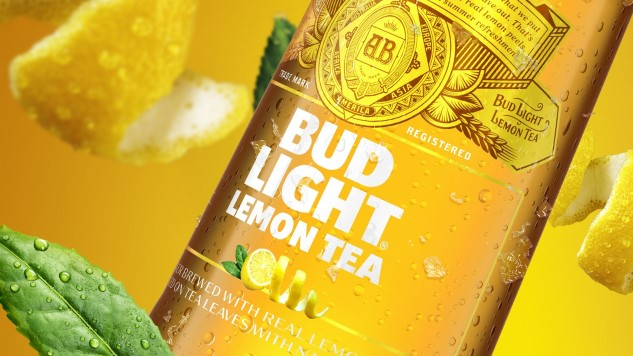 "Budweiser's Latest Flavor Abomination is ""Bud Light Lemon Tea"""