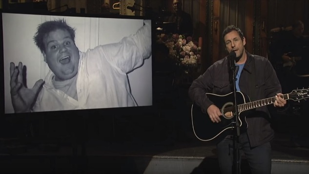 Adam Sandler Brings Laughter and Legitimate Tears to a Wonderful Episode of <i>Saturday Night Live</i>