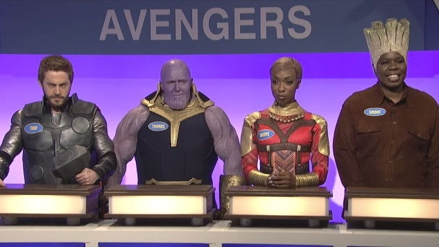 The Avengers and <i>Game of Thrones</i> Play Family Feud in This <i>SNL</i> Sketch