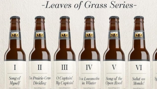 Bell's Brewery Unveils Beer Series Inspired by Walt Whitman's <i>Leaves of Grass</i>