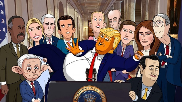 <i>Our Cartoon President</i> and the Struggle to Make Fun of Trump in 2019