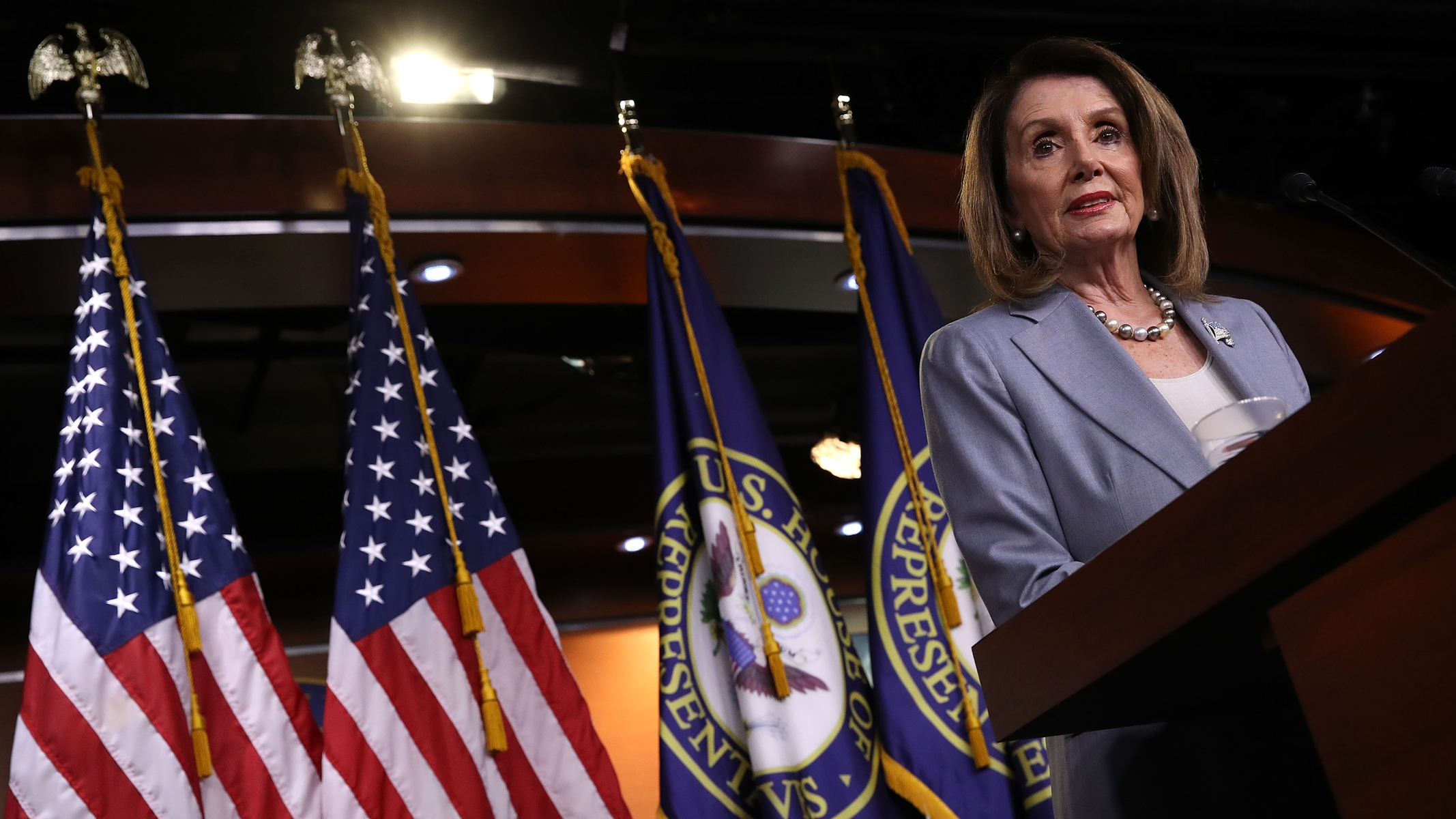 Nancy Pelosi Is Right: We're In the Midst of a Constitutional Crisis. And She's Contributing to It