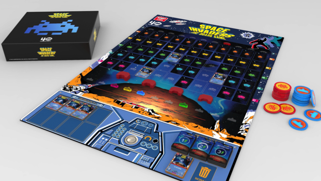 <i>Space Invaders&#8212;The Board Game</i> Officially Launches on Kickstarter