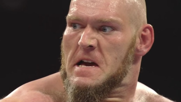 WWE Fines Lars Sullivan for His Offensive Online Comments
