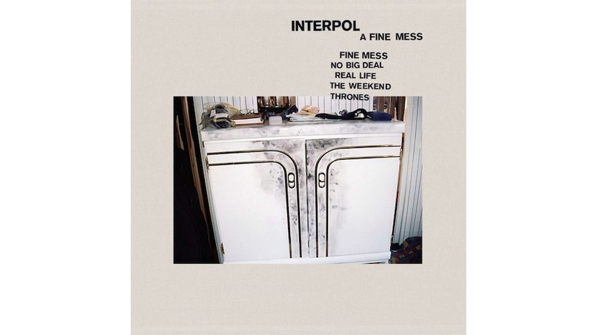 Interpol: <i>A Fine Mess</i> EP Review