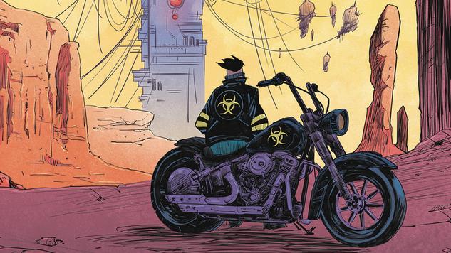 Artist Alejandro Aragon Deploys the Post-Apocalyptic Designs of <i>Death Orb</i>