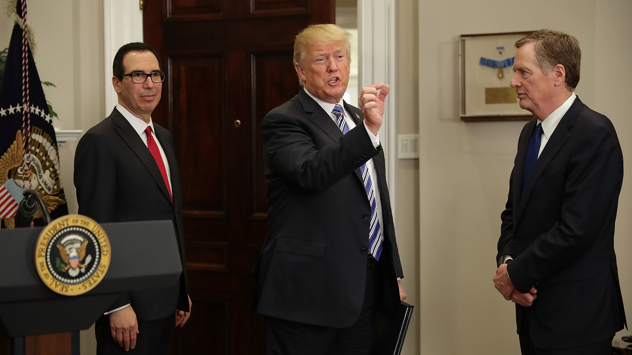 Secret IRS Memo on Trump's Tax Returns Completely Rebukes Trump and Steve Mnuchin's Excuses for Hiding Them