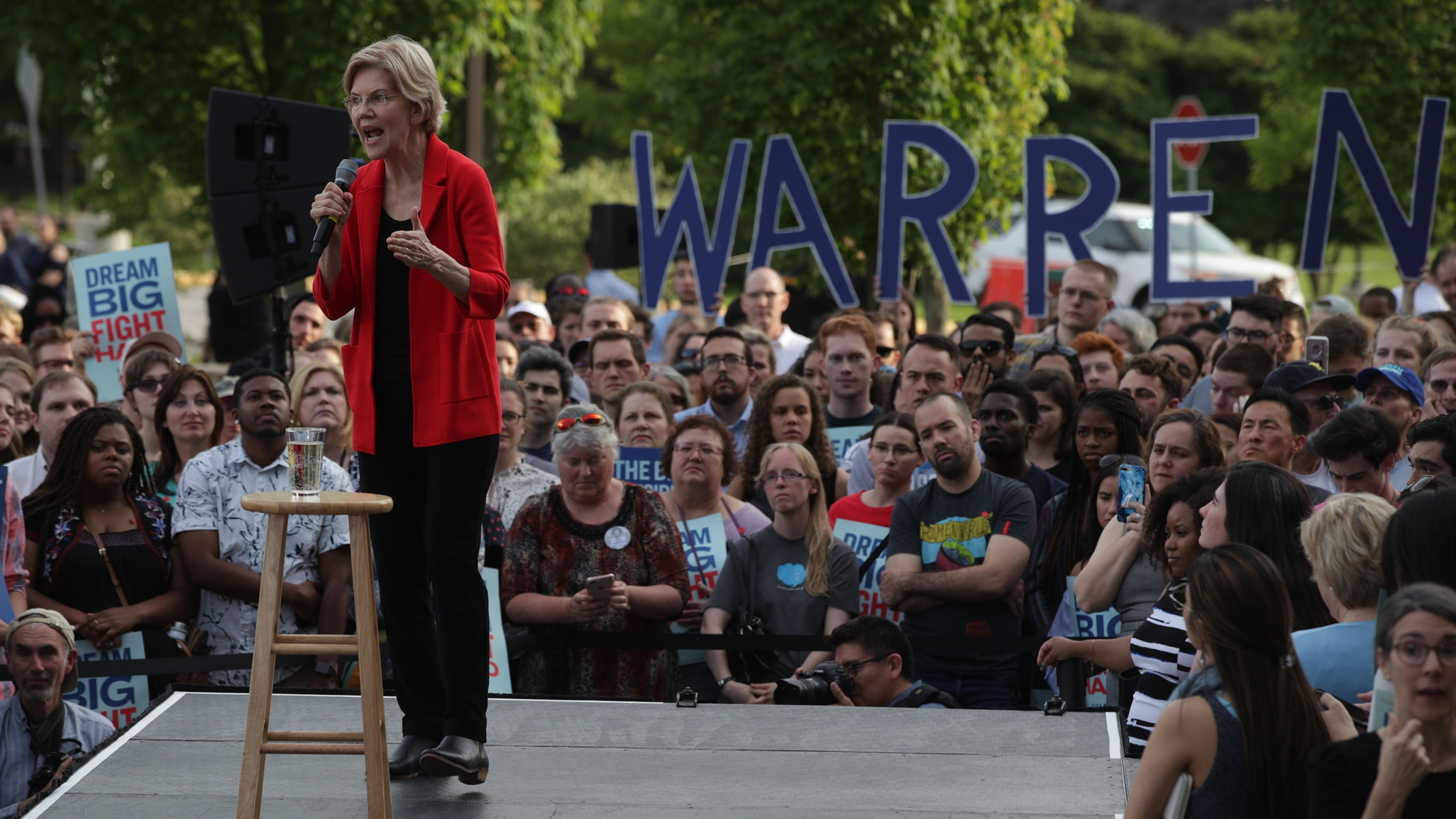 The 8 Biggest Revelations from a New Poll Showing Serious Momentum for Elizabeth Warren