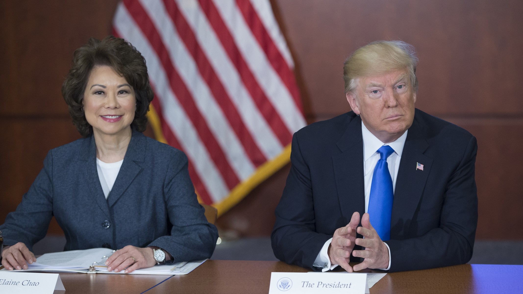 Trump's Transportation Secretary Didn't Do Something She Said She'd Do, and She Made Money As a Result
