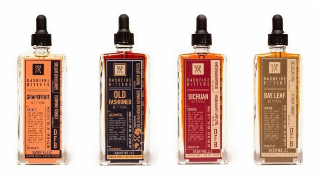 Tasting 5 Unique Cocktail Bitters from Dashfire Bitters