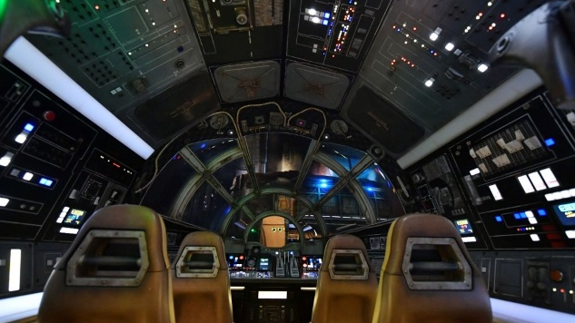 Flying the Millennium Falcon Is Great but Somehow the Least Impressive Thing about Disney's Star Wars: Galaxy's Edge