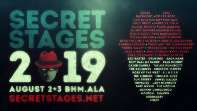 Secret Stages Music Festival 2019 Lineup Features Molly Burch, Paul Cherry, GRLwood, More