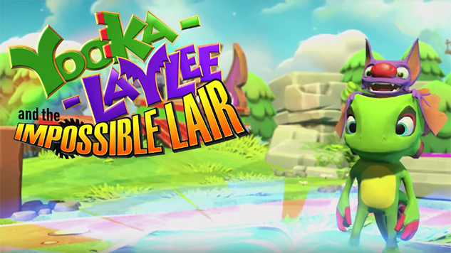 <i>Yooka-Laylee</i> Gets a Side-Scrolling Sequel