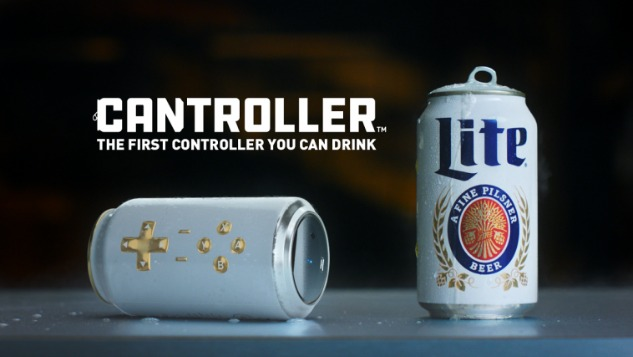 This Beer Can Doubles as a Videogame Controller