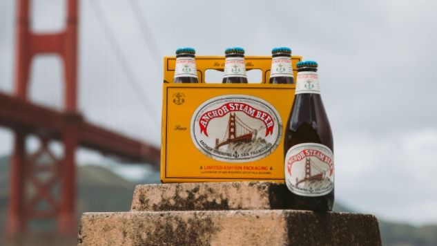 The Story Behind Anchor Steam's New Beer Labels