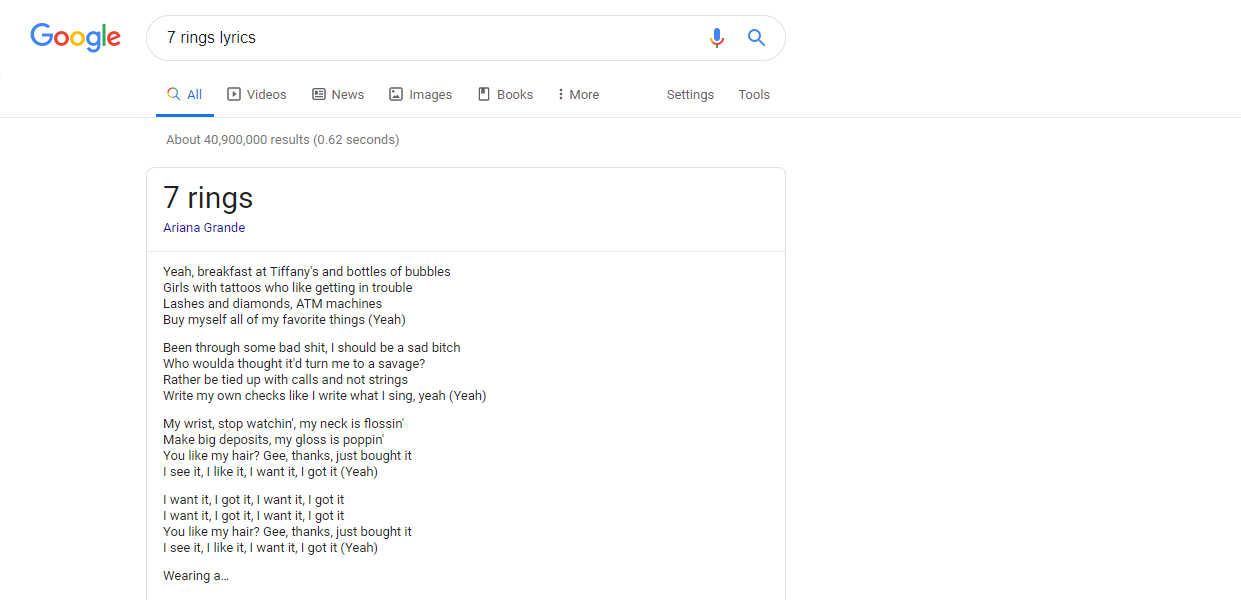 Google Accused of Ripping Song Lyrics from Genius - Paste