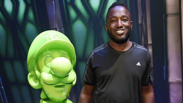 People Love This Photo of Hannibal Buress and Gooigi, the Goo Version of Nintendo's Luigi